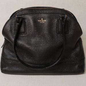 Kate Spade Black Pebbled Leather Satchel/Handbag